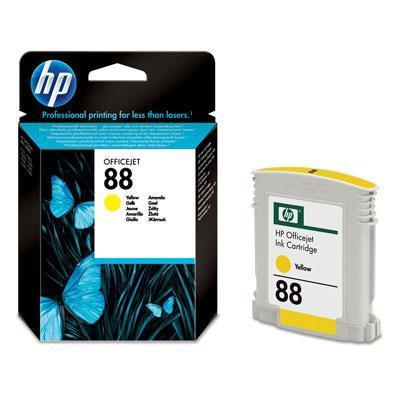Nová originální Inkoustová náplň HP 88 žlutá - C9388AE