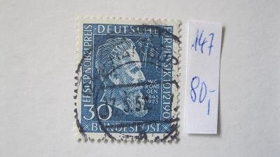 Německo BRD - razítkovaná známka katalogové číslo 147