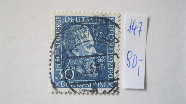 Německo BRD - razítkovaná známka katalogové číslo 147 - Filatelie