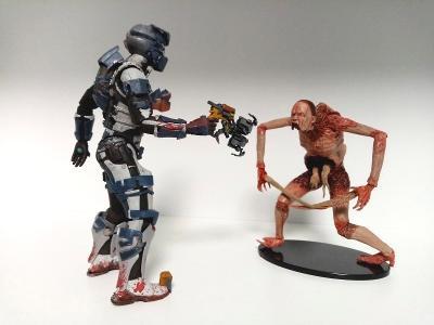 DEAD SPACE 2 - Isaac Clarke & Necromorph Slasher