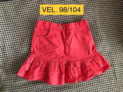 Dívčí sukně VEL. 98/104