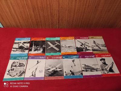 Časopisy modelář 1967 kompletní ročník!