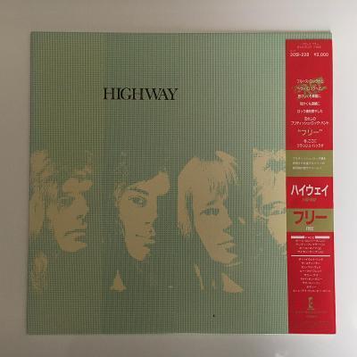 Free – Highway - LP vinyl - Japan