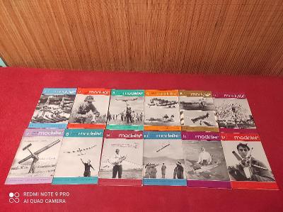 Časopisy Modelář 1969 kompletní ročník!