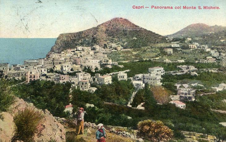 Capri (Itálie) ** - Pohlednice