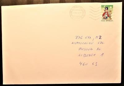 ČR - dopisní obálka - pošta Frýdlant v Čechách