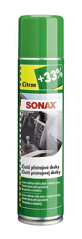SONAX Čistič přístrojové desky CITRON 400 ml VÝPRODEJ !!!