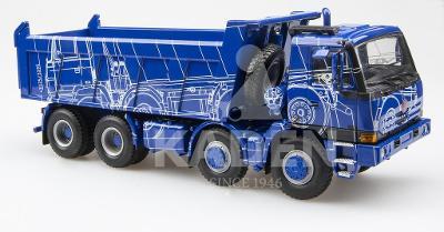 Kaden TATRA 815 8x8 Terrno modrá ''technický výkres''