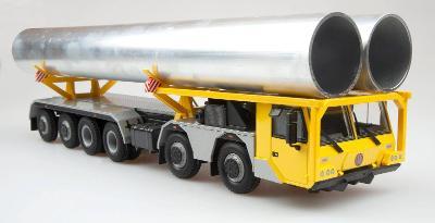 Kaden přepravník potrubí model