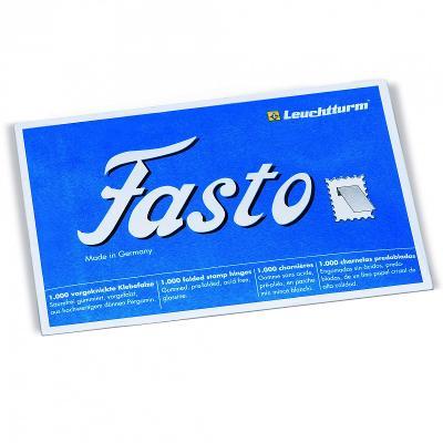 Filatelistické nálepky Leuchtturm FASTO, 1000 ks