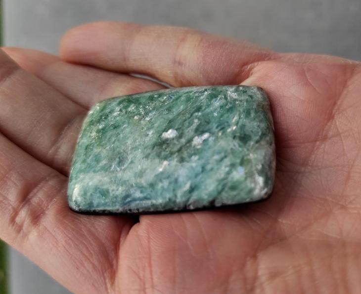 Paragonit, ID 1877, 42x30 mm - Minerály a zkameněliny