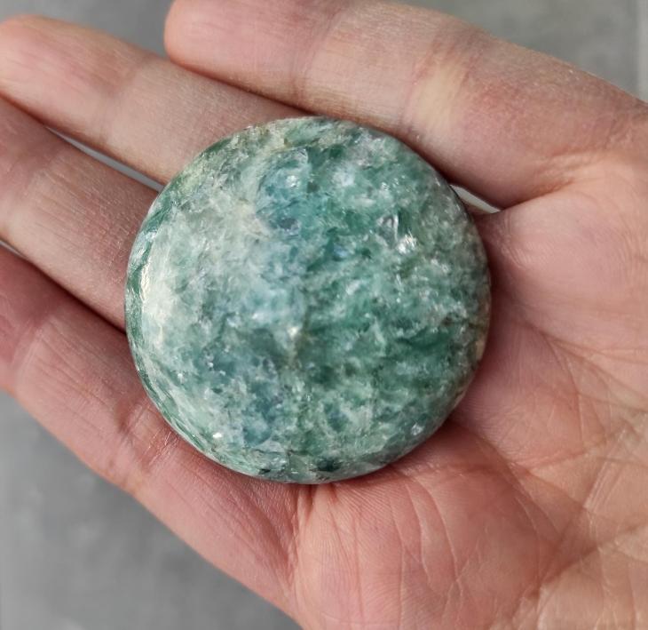 Paragonit, ID 1876, průměr 40 mm - Minerály a zkameněliny