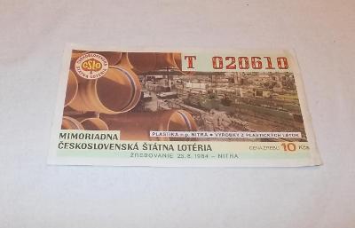 Los ČSL 1984 Nitra