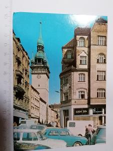 Pohled Brno Radnická ulice