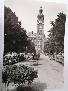 Pohled Prostějov radnice