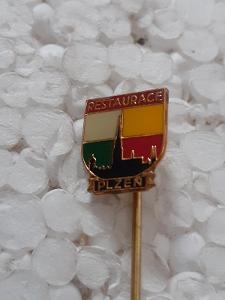 Odznak Restaurace Plzeň