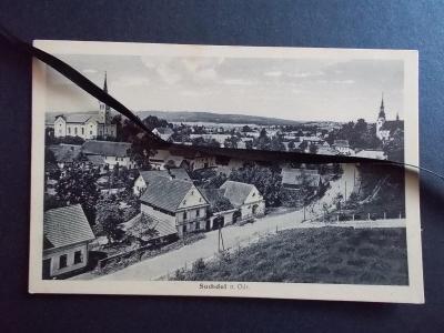 Nový Jičín Neu Titschein  Suchdol  nad Odrou  kostel evangel a křestan