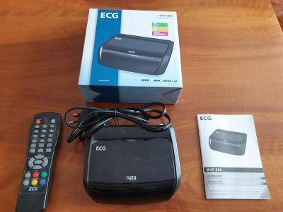 Set top box ECG DVB-T