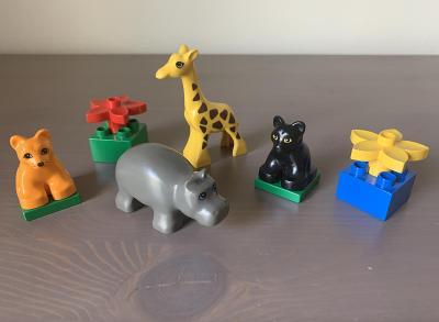 Lego Duplo 2862 - Baby zvířata - hroch - Zoo