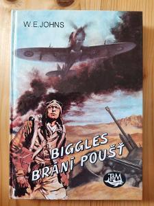 Biggles brání poušť W.E. Johns