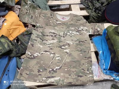 NOVÉ originál MULTICAM armádní trička TRUSPEC - Large