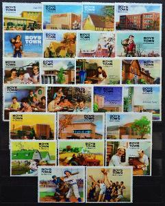 USA-U.S.BOYS TOWN-NEBRASKA,1950/60.Propagační známky / FZ-85