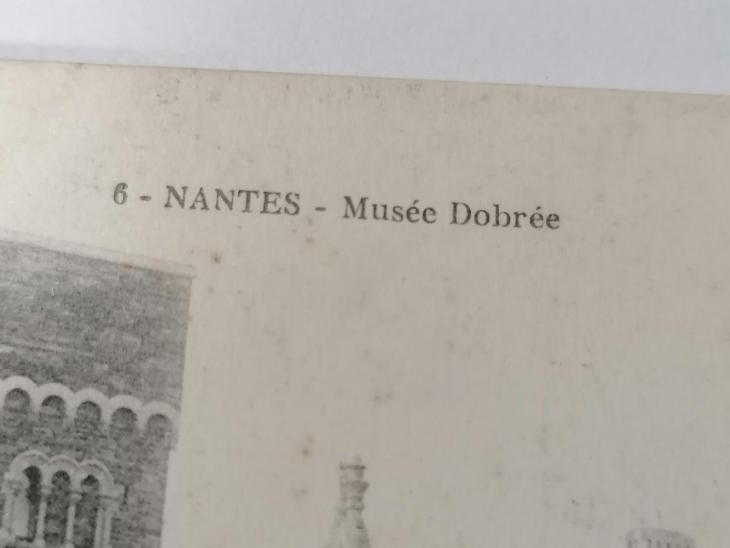 Pohled Nantes  - Pohlednice