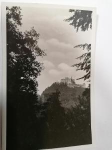 Pohled hrad Buchlov