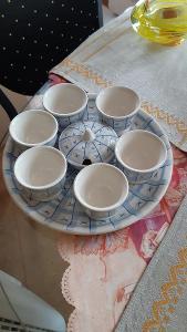 Sada porcelán kávový servis