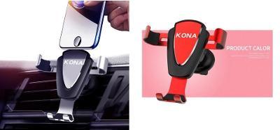 Hyundai Kona logo - držák na mobil GPS do auta 2 barvy