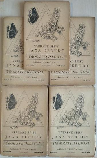 Výbor z feuilletonů - Neruda, Jan (10 sešitů v 5 vydáních)