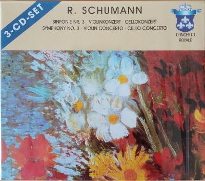 SCHUMANN R.  Symphony No.3,Violin...  3 CD SET
