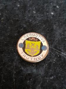 Odznak Lokomotiva Trutnov  - bílá varianta