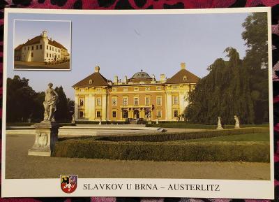 Pohlednice SLAVKOV U BRNA (ČESKO) - čistá VF