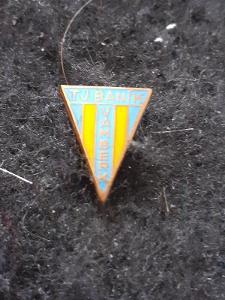 Odznak TJ Baník Vamberk,okres Rychnov nad Kněžnou