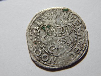 Německo Sasko Christian I. 3 Pfennig 1589 č27278
