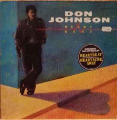 LP Don Johnson – Heartbeat, 1986 EX