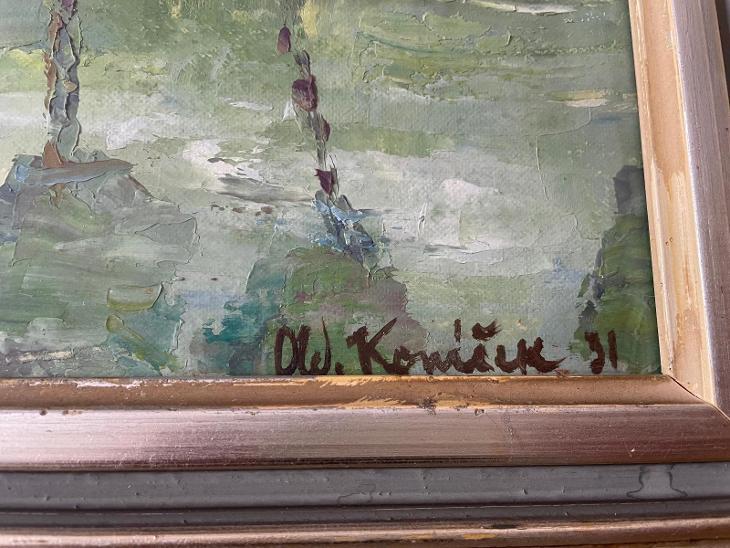Oldřich Koníček  - Umění