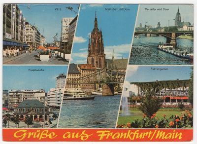 Nemecko - Frankfurt n. Mohanom - nepoužitá