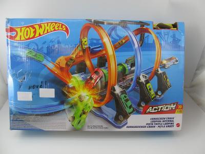 Hot Wheels Spirálová jízda, Mattel FTB6 ZÁVODNÍ DRÁHA # 1