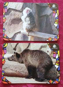 Kartičkové kalendáře/1 – Rusko ZOO / 2010 – 2 ks