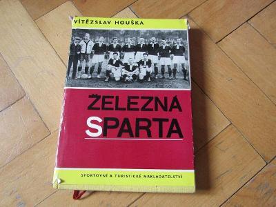 Kniha Železná Sparta 1893-1935/V.Houška/1966/