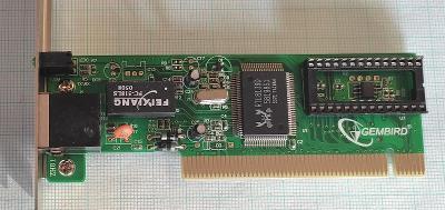 Síťová karta Gembrid RTL8139D 10/100Mbit/s PCI