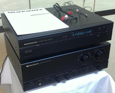 MARANTZ PM-50/ST-50 Stereo Integrated Amplifier / FM-AM Tuner (Japan)