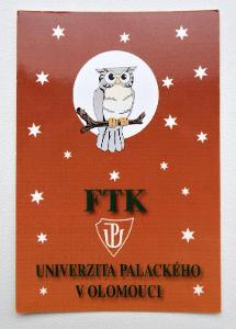 KARTIČKOVÝ KALENDÁŘ 2009 - OLOMOUC - UNIVERZITA PALACKÉHO - FTK