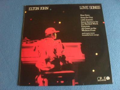 LP Elton John - Love songs