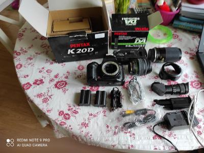 Fotoaparát PENTAX K20D