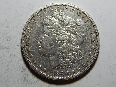 USA 1 Dollar Morgan 1880 XF č25641