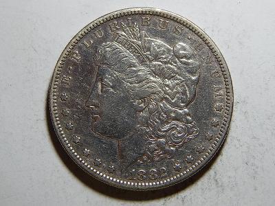USA 1 Dollar Morgan 1882S XF č25611