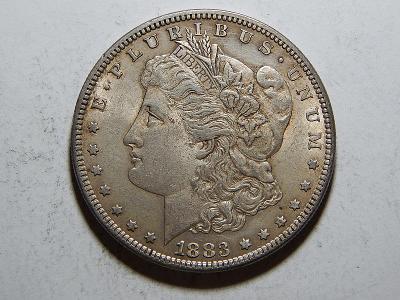 USA 1 Dollar Morgan 1883 UNC č25606